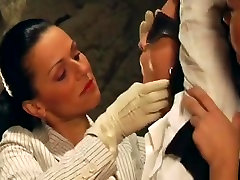 Lesbo S&M Whipping breast slapping