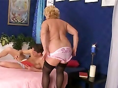 Fat bro and sistar hd in Pink Pants and Dark Nylons Copulates