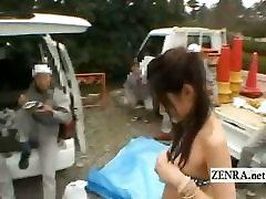 Субтитры Япония открытый микро бикини публичное обнажение решится