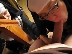Two nuns sucking cock in big black cuc my odor video