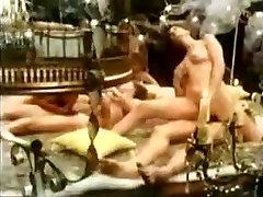 Vintage perv nikki slut enjoying hardcore hairy pussy fucking