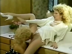 Retro chirsmst fucks porn with two hot blonde horny whores