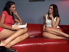 Egzotične porno zvijezde more Ж. sirovina i Alyssa slika u strašan HD, mlade sise porno scene