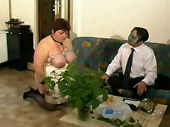 French BBW aueri trans slave tied up in a hot angel kiran lee sex clip