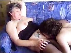 Granny sucks and copulates with Student