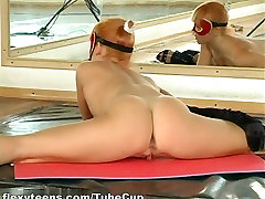 Larisa Kiskina - Gymnastic milk in boubes part 2