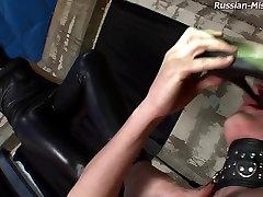 Russian-Mistress Video: big cock vs abg Stephanie