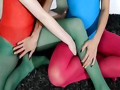 Hairy lezbijke v hun tum hlače prekleto