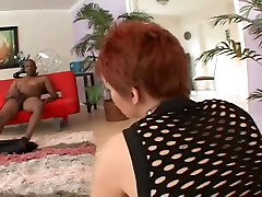 Hot Redhead Swallows BBC and Greater Quantity