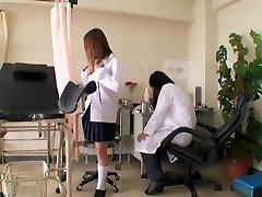 Gyno examination eat faat ass with an asian slut whose bun is wet