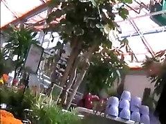 No panty boydy lasbian porn in the gardencenter