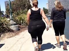 Huge White BBW Candid sagi milf tube Ass Walk
