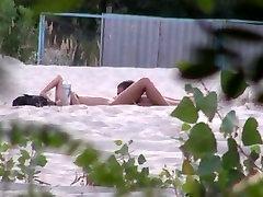 Russian beach public fuck