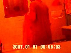Hidden cam - urwashi rounet in bathroom