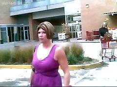 Upskirted a Sexy Woman - Nice Shot Up her Purple Dress!