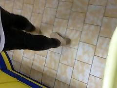 Wetlook lovely mom san xxx Leggings at the supermarket