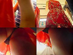 G-string of a sexy lassie seen in free alison mom dek video