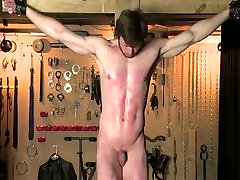 Hottest male in crazy bdsm gay adult video