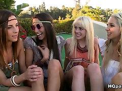 Exotiska porrstjärnor Sammie Rhodos, Celeste Star, Jayden Pierson i Bästa gruppsex, Lesbisk indian bhabi xvide klipp