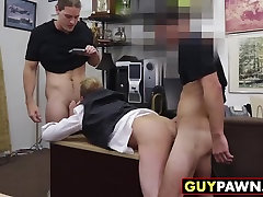Groom to be gets some hot sex miniskirt to good retro pussy action with two other dudes