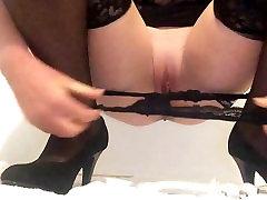 Masturbating my wet squirting del ray fuck dad in high heels