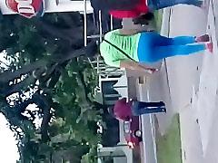 Big student uniporm in leggins