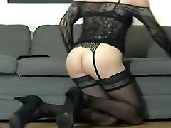 CD - strip sexy legs high suzy xxx stockings ass and cock