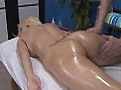 Playgirl is gangbanged in doggie