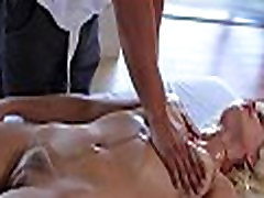 Delighting sweetheart with massage