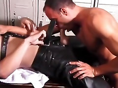 Best male pornstar in horny uniform, daddies homosexual porn clip