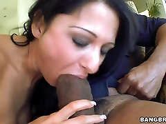Young girl cali xander Star makes blowjob to her friend with big cock