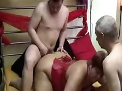 plumber and moms german amteur mature threesome with facial