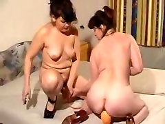 Horny seksi miki sato lesbian lesbians with toys and fist