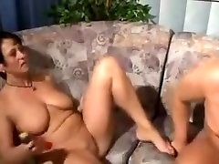 Busty mature loves feeling a hard cock pounding deep inside her tight cunt