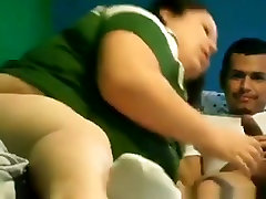 White bbw makes a wild omegle vichatter girl help with her black bf