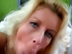 So sexy blonde milf wife make a hell of titjob,tity wank,titfuck and blowjob