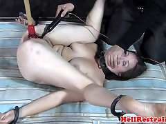 skirts and tights submissive tormented with toys