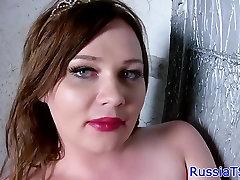 Glam sinhala new xx tranny tugging her cock