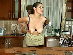 Mature Russian Emilia fucks in the snx sex tamili with a guy
