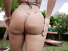 Big putra vs mama Charley Hart gets drilled by the pool