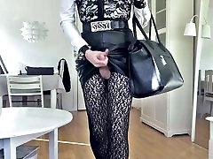 Sissy Hot Sexy gay uniform Skirt