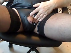 Jerk off Small Cock Rubber Panties special xxx video Stockings