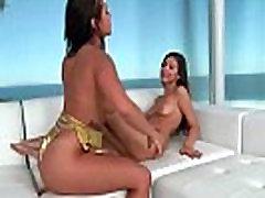 Keisha Grey &amp Nina North Teen dolly buster 70 Girls Lick And Play On Camera clip-18