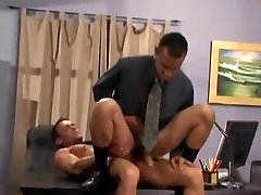 Horny male in hottest uniform gay porn video