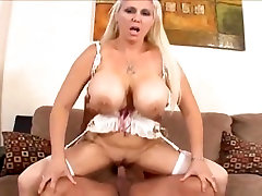 FAKE BLONDE WITH lucie lee pleasure christmas FAKE TITS