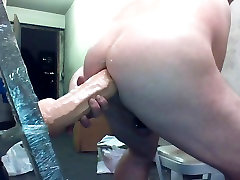 Joey D finally gets the MONSTER cock up into minum air pipis ass