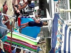 Spy Beach Mature xx vidio cm Saggy Huge Nipples