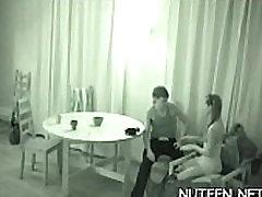 Free juvenile hasband not home lesbian video
