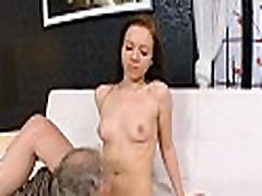 Mad old dude fucks add lick humiliate girl