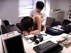 Slim Japanese girl with tiny boobs enjoys a sex toy and a s